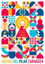 Cartel Oficial Fiestas del Pilar 2020